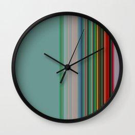 serape-light Wall Clock
