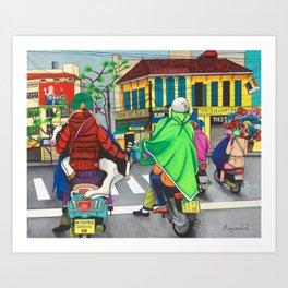 Vietnamese Gangsta Art Print