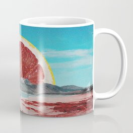 Grapefruit Beach Coffee Mug