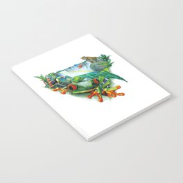 Tropical Collage Notebook
