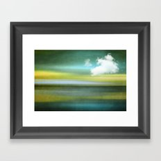 TIME AND SILENCE III Framed Art Print