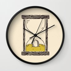 Time's Up Wall Clock