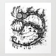 The MakroMonster Art Print
