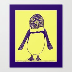 Somewhat of a Jackass Penguin Canvas Print