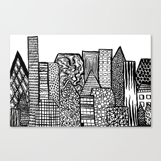Where Are You Today? Canvas Print