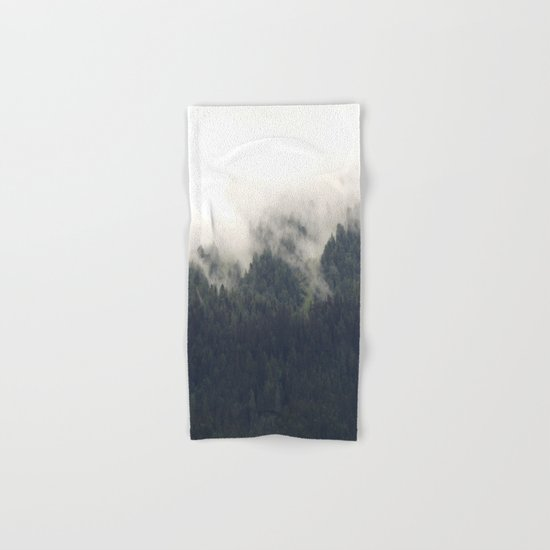 Forest #evergreen # landscape photography Hand & Bath Towel