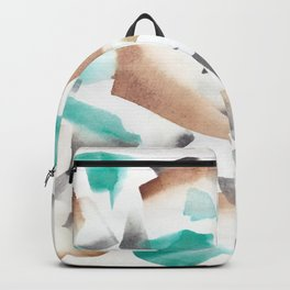 180719 Koh-I-Noor Watercolour Abstract 39| Watercolor Brush Strokes Backpack