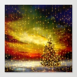 A Christmas Night Canvas Print