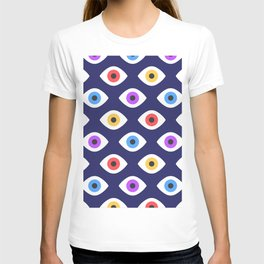 Lucky Eyes Vintage Pattern T-shirt