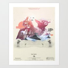Star Wars  - 3 Art Print