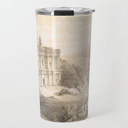 Vintage Illustration of Petra (1849) 2 Travel Mug