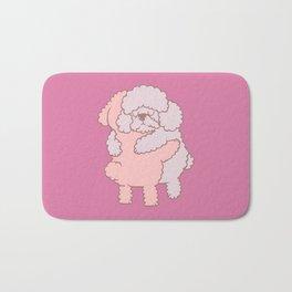 Poodle Hugs Bath Mat