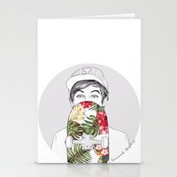coconutwishes Stationery Cards featuring L Skate by Coconut Wishes