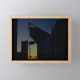 Sun Slice Framed Mini Art Print