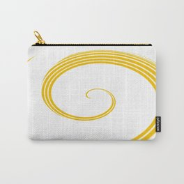 Yellow Fire 2 Abstract Art By Saribelle Rodriguez Carry-All Pouch
