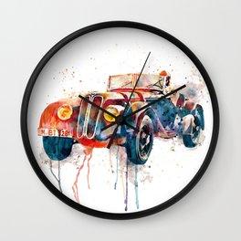 Vintage Driver Wall Clock