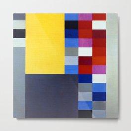 Sophie Taeuber Arp Vertical Horizontal Composition Metal Print