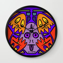 Ghost friends from AkA Corp Wall Clock