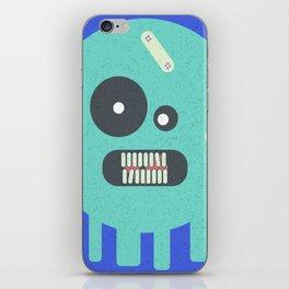 bola fantasmal iPhone Skin