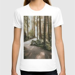 Lost in the Forest - Landscape Photography T-shirt