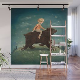 Bear Boy by Emily Winfield Martin Wall Mural