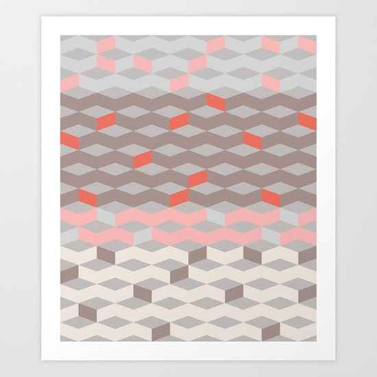 Pattern Collection  Art Print
