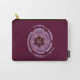 Red Acer Leaves Carry-All Pouch