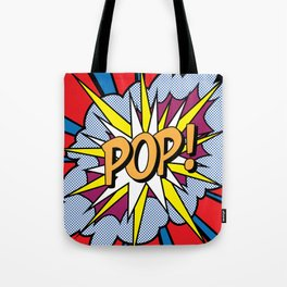 POP Art Exclamation Tote Bag