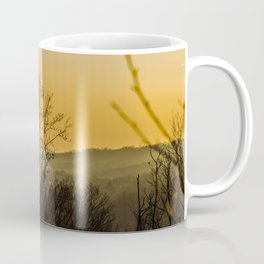 Sunset in the foothills Coffee Mug