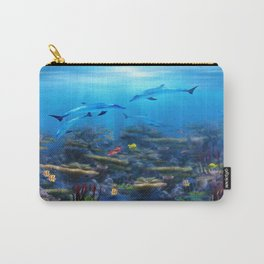 Lost Ocean Carry-All Pouch