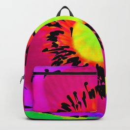 Bright Pink Poppy Backpack