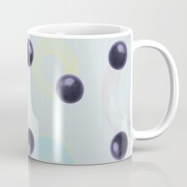 Plums Pattern Coffee Mug