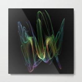 Fractal Abstract 10 Metal Print