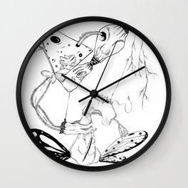 Twisted Links Wall Clock