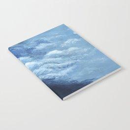 Children's book Cloud Woman print Notebook