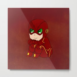 THE cute Flash Metal Print