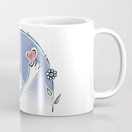 go vegan,vegan, love, heart, corazon Coffee Mug