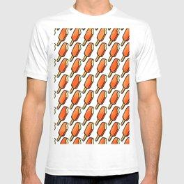 Orange Creamsicle Icecream Popsicles T-shirt