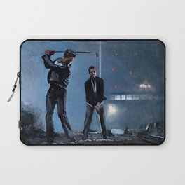 Tyler Durden and the Narrator - Golfing Buddies - Fight Laptop Sleeve