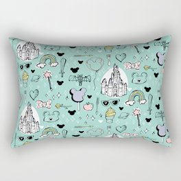 Magical Trinkets Rectangular Pillow