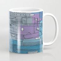 seoul Mugs featuring Seoul City #3 by Rob McClelland