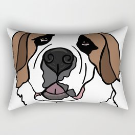 Sulley the Saint Berner Rectangular Pillow