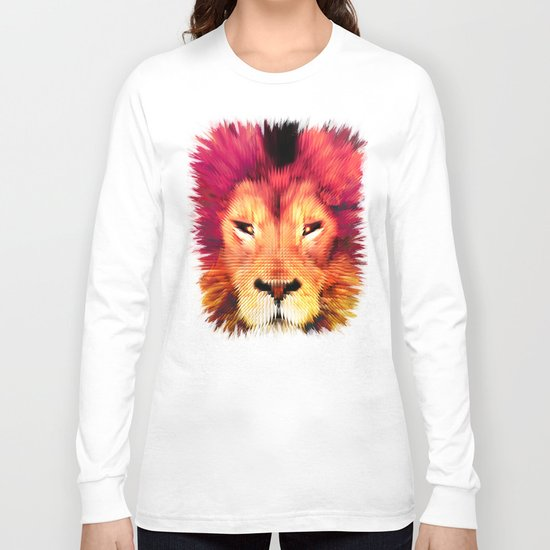 BIG CAT LION Long Sleeve T-shirt