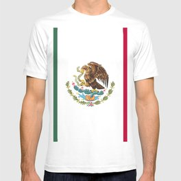 Mexico flag emblem T-shirt