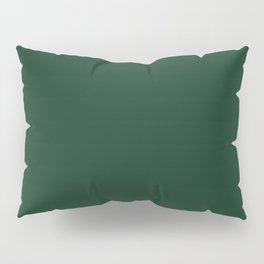 Phthalo Green - solid color Pillow Sham