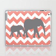 Chevron Elephants Laptop & iPad Skin