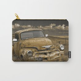 Abandoned Vintage Chevy Pickup Truck Carry-All Pouch