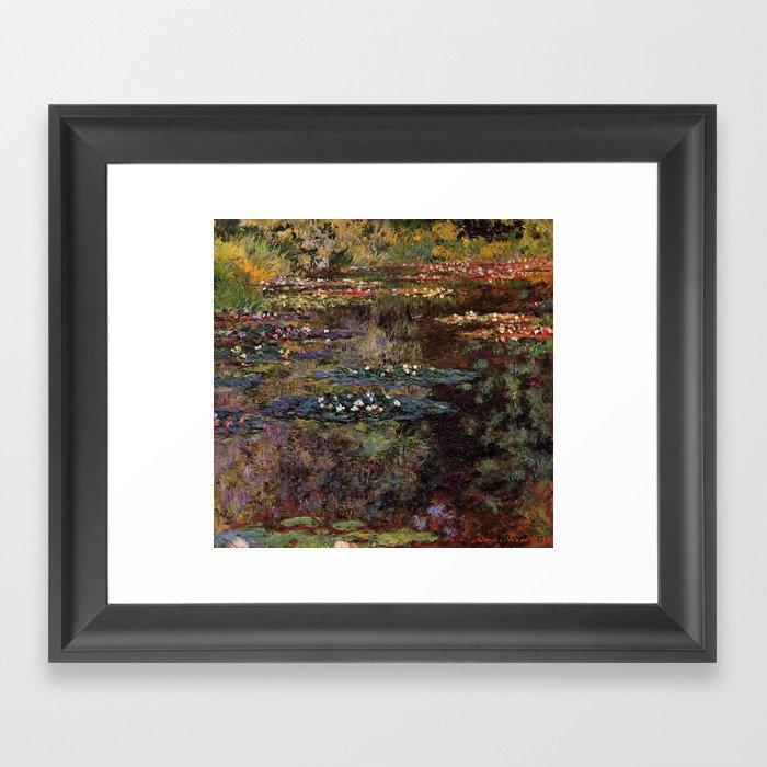 Claude Monet Pool With Water Lilies 1904 Gerahmter Kunstdruck
