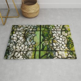 Louis Comfort Tiffany - Decorative stained glass 2. Rug