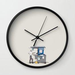Rebusque Wall Clock